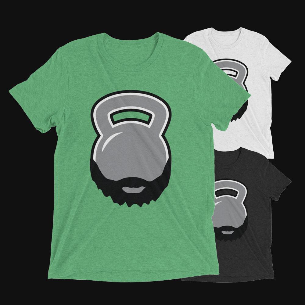 Bearded Kettlebell T-Shirt