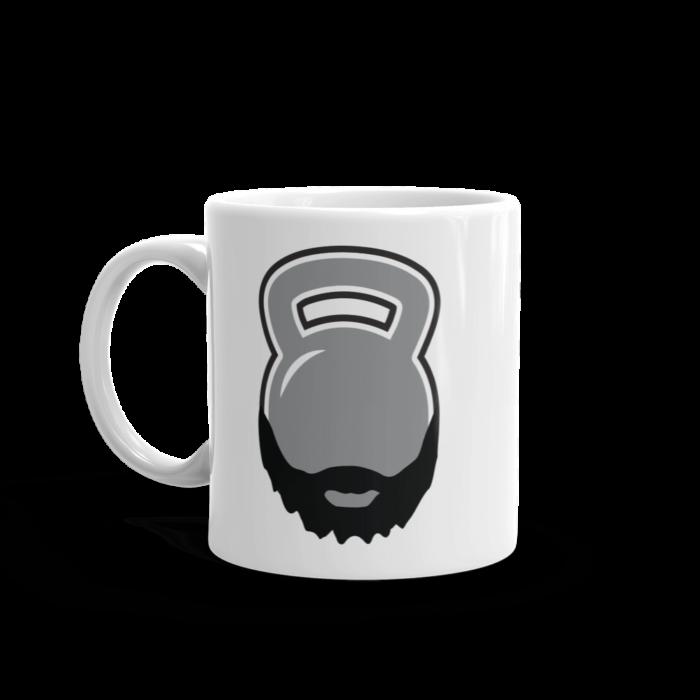 Bearded Kettlebell Mug